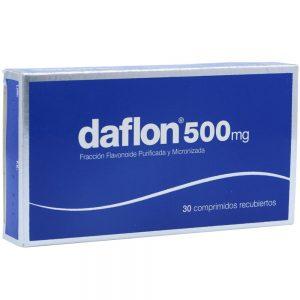7594002620487 Upc Daflon 500 Mg 30 Tabletas