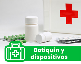 BOTIQUIN Y DISPOSITIVOS